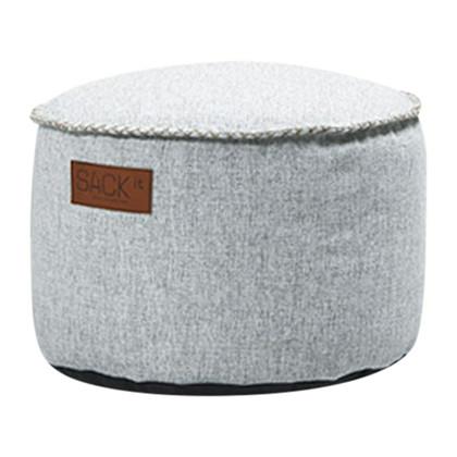 RETROit Cobana Drum Puf Udendørs - White, SACKit