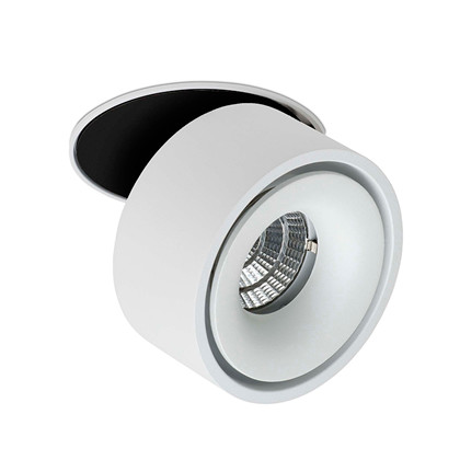 Easy B100 White 10W Dimm 2700K890lm IP20 Ø10H6Cutout 9 Spots - Scan studio