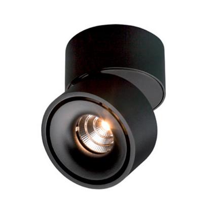 Easy W75 LED Påbygningsspot 7W Sort - ANTIDARK