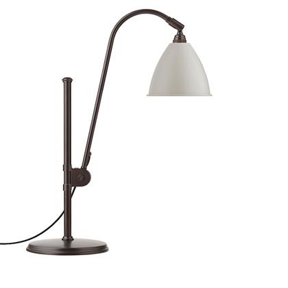 Bestlite BL1 Bordlampe Sort Messing/Hvid - GUBI