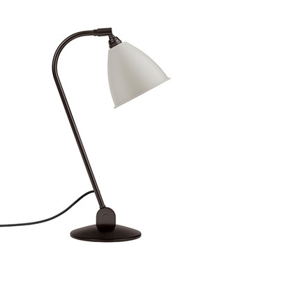 BL2 Bordlampe Ø16 Sort Messing/Klassisk Hvid - GUBI