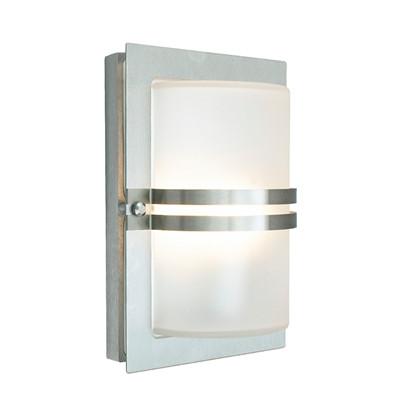 Basel LED Udendørs Væglampe Stål - Norlys
