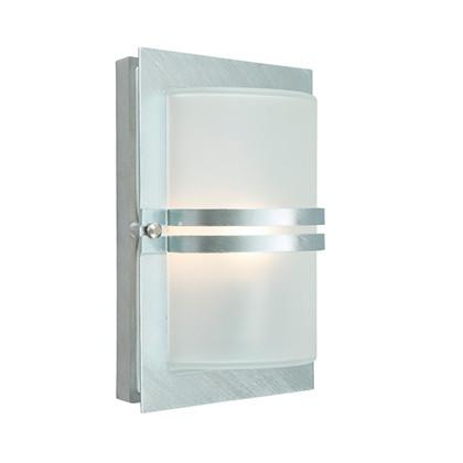 Basel LED Udendørs Væglampe Galvaniseret - Norlys