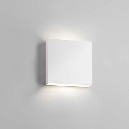Compact LED udendørs væglampe Hvid - Light-Point