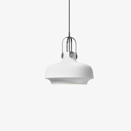 Copenhagen Pendel Lampe mat hvid - &tradition