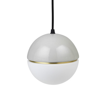 Macaroon Pendel Lampe Light Grey - Lucie Kaas