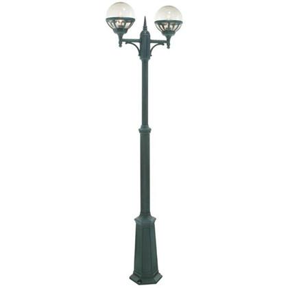 Bologna Udendørs Stolpe Lampe 2-hovedet - Norlys