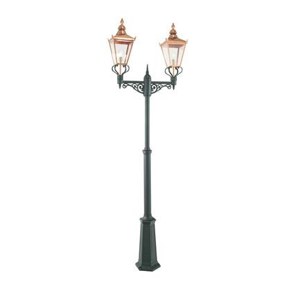 Chelsea Udendørs Stolpe Lampe 2-hovedet - Norlys