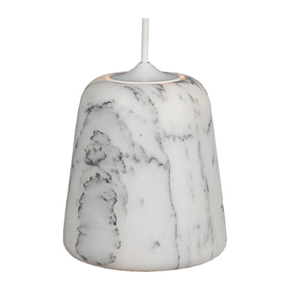 Material Pendant Lampe White Marble fra Roomstore