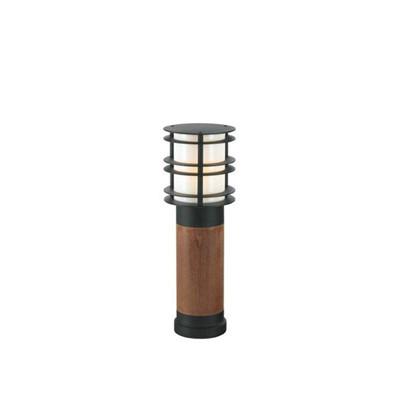Stockholm Træ Pullert LED - 49 cm - Norlys
