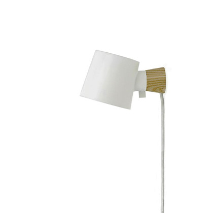 Rise Vegglampa Hvit - Normann