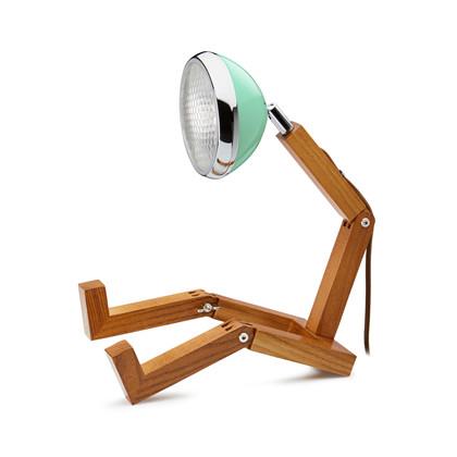 Mr. Wattson LED Bordlampe Mintgrøn