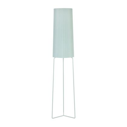 Straight-up Plisseret Gulvlampe - Pastel Grøn - KS Lampeskærme