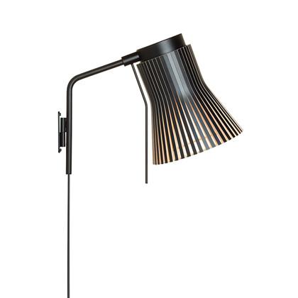 Petite 4630 Væglampe Sort - Secto