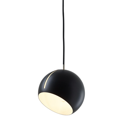 Tilt Globe Pendel Lampe Sort fra Nyta