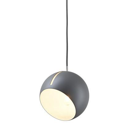 Tilt Globe Pendel Lampe Grå fra Nyta