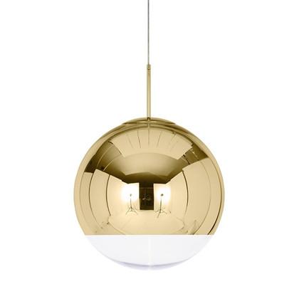 Mirror Ball Pendel Lampe Guld fra Tom Dixon