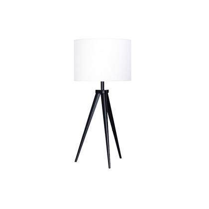 Paso Tri 25 T1 Bordlampe Sort/Hvid - Darø