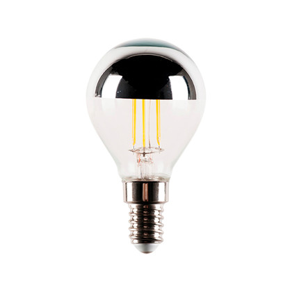 AIRAM LED Kronepære Topforspejlet 2W E14 220lm 2700K