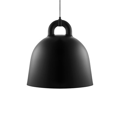 Bell Pendel Lampe Sort Large - Normann Copenhagen