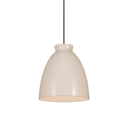 Milano 30 Pendel Lampe Hvid - Dyberg Larsen