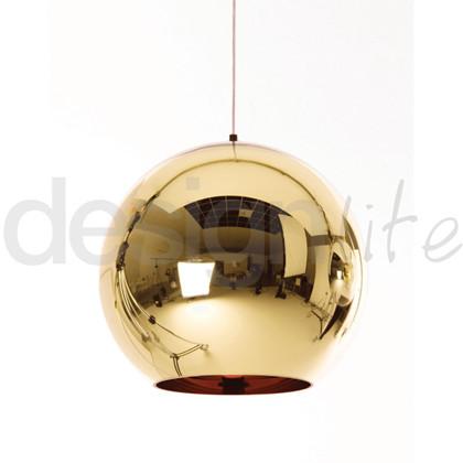 Bronze Kobber Pendel lampe fra Tom Dixon