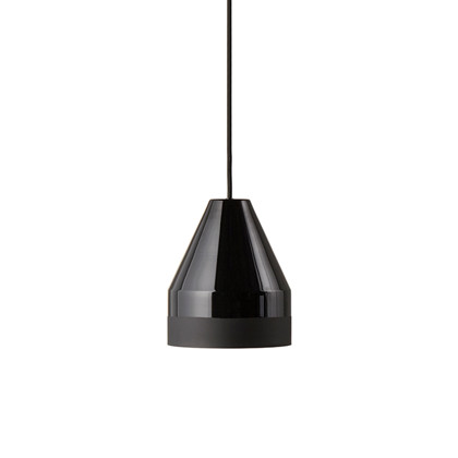 Crayon Pendel Lampe - Sort Ø30 - Fra Frank Kerdil