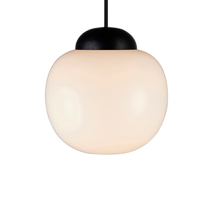 Cream Pendel Lampe Opal Ø22 - Halo Design
