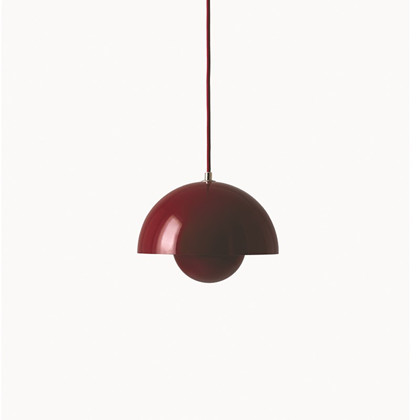 Flowerpot VP1 Pendel Deep Red - &tradition