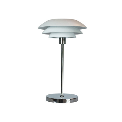 DL31 Bordlampe Mat Hvid - DybergLarsen