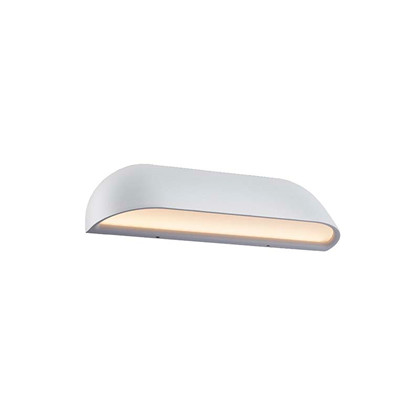 Front LED Hvid Udendørslampe - Nordlux