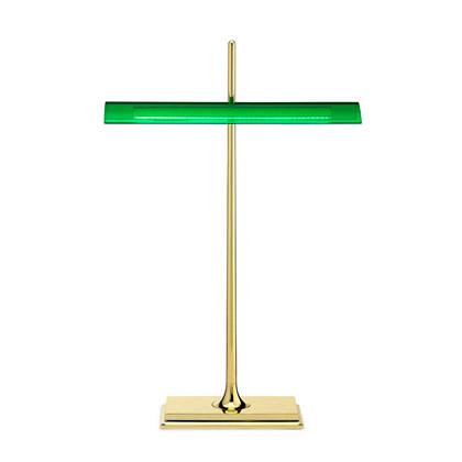 Goldman bordlampe messing/grøn fra Flos