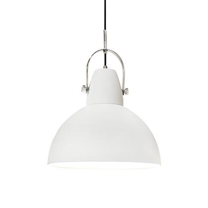 Hoop Pendel Lampe Hvid - By Rydéns