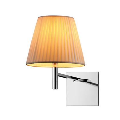 KTribe W Væglampe Råhvid Silke - Flos