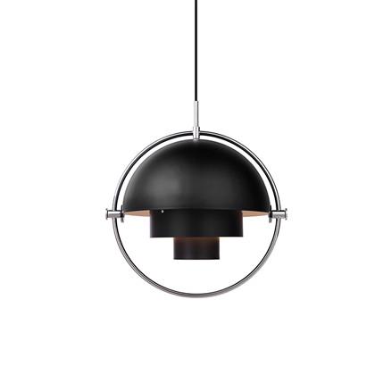 Multi-Lite Pendel Black/Chrome - Gubi