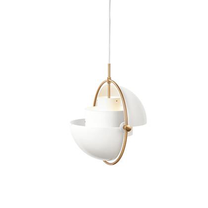 Multi-Lite Pendel White/Brass - Gubi