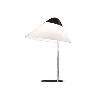 Opala Midi Bordlampe u/Dimmer Sort & Krom - Pandul