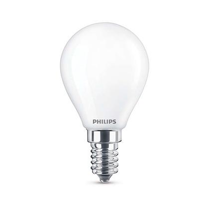 Pære LED 2,2W Glas Krone (250lm) E14 - Philips