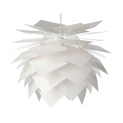 PineApple Hvid Pendel Lampe fra Frank Kerdil