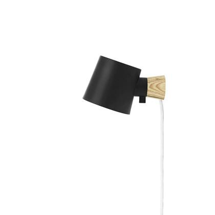 Rise Væglampe Sort - Normann
