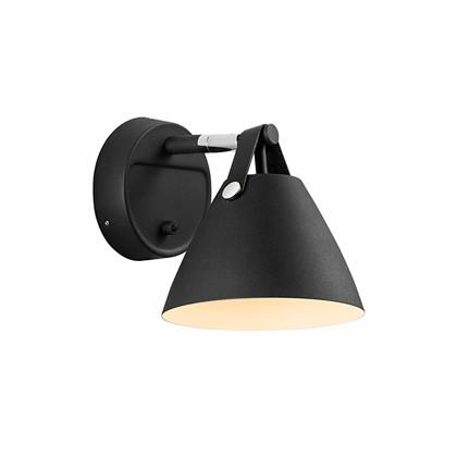 Strap 15 Væglampe - Sort - Nordlux