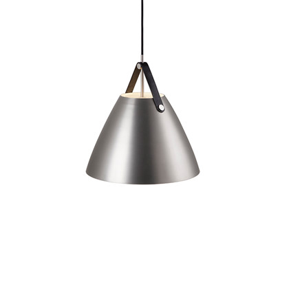 Strap Pendel Lampe - Børstet Stål fra Nordlux