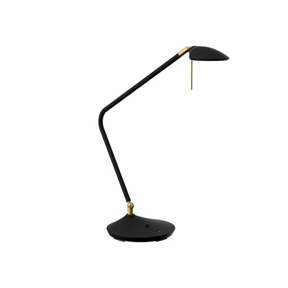 Toreno LED Bordlampe Sort med dæmper - Texa Design