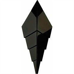 Zaphir 30 Væglampe Sort - Iconi