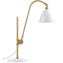 Bestlite BL1 Bordlampe Ø16 Messing/Mat Hvid - GUBI