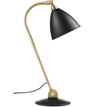 Bestlite BL2 Bordlampe i charcoal og Messing - Gubi