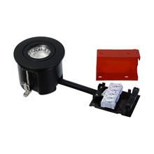 EASY 2-USE Indbygningsspot til indendørs brug Mat Sort Ø87 - Daxtor