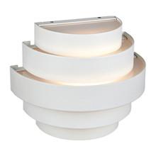 Etage Hvid Udendørs Væglampe fra Markslöjd