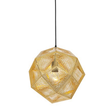 Etch Light Pendel Messing fra Tom Dixon