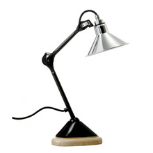Lampe Gras 207 Bordlampe Krom-Sort fra DCW Éditions